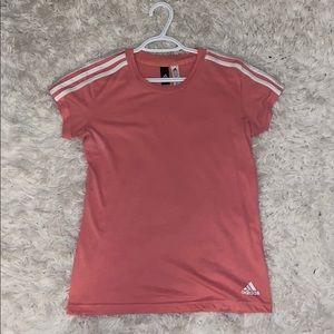 Real Adidas shirt pink